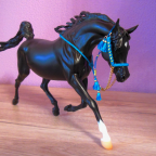 "Ghazale (Breyer ""Rhapsody in Black"")"