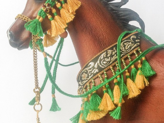 Arabian tack in process